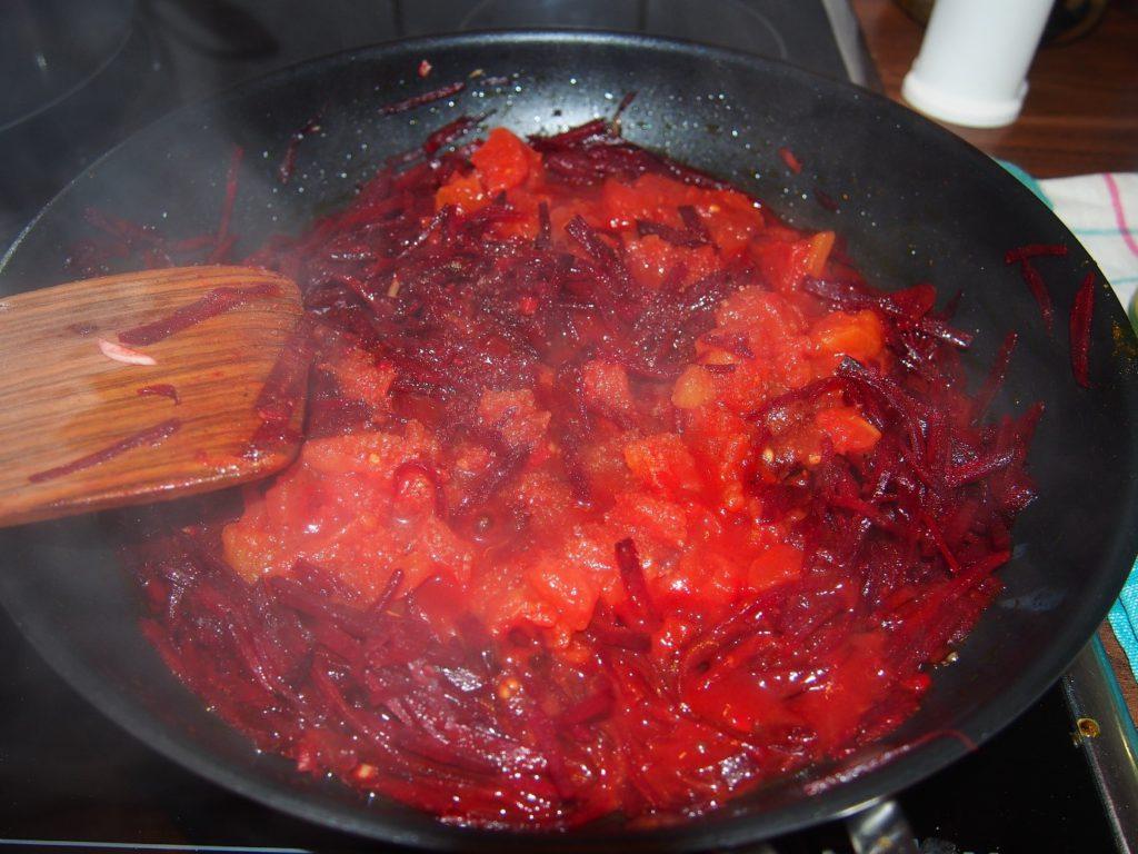 Borschtsch Rezept, vegetarischer Borschtsch